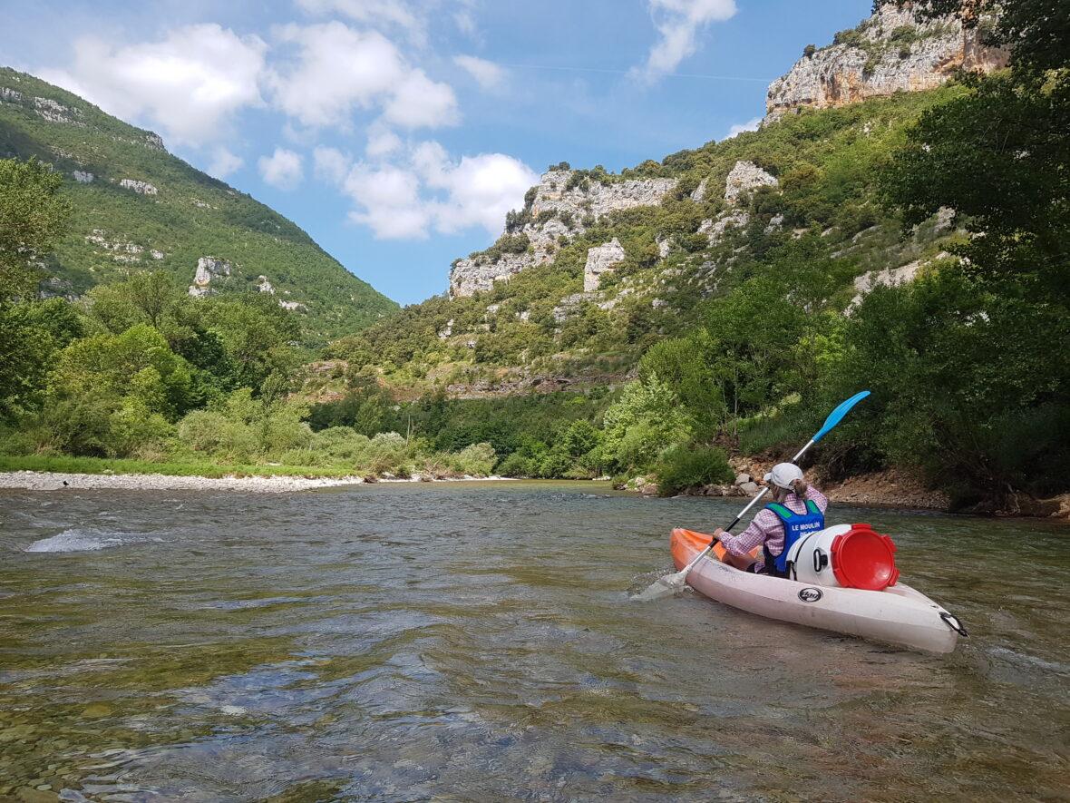 Kayakken op de Tarn